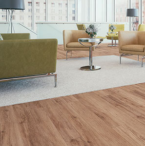 Living Room with TORLYS floors