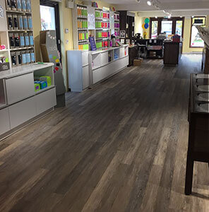Retail Workplace with TORLYS floors