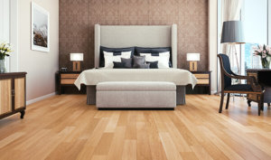 Bedroom with TORLYS floors
