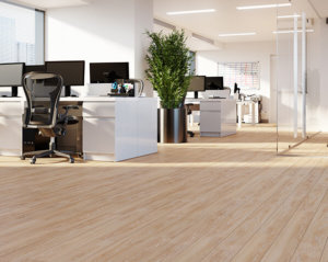 Office with TORLYS floors