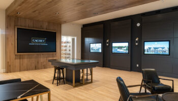 Sales Centre with EverWood Elite flooring in Brook Falls