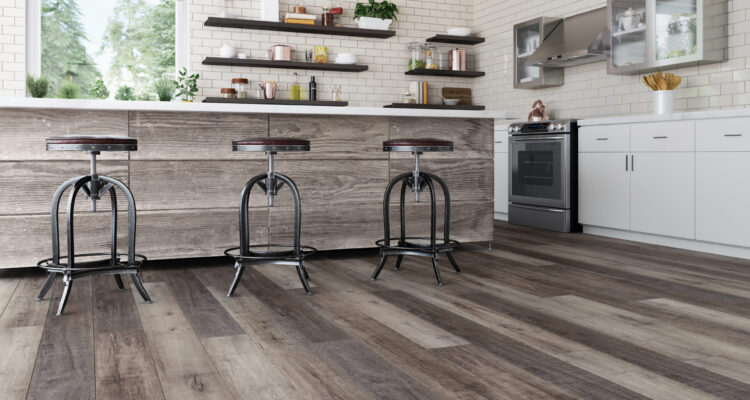 Kitchen with TORLYS EverWood Designer in Seabright floors